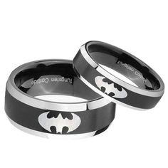 Batman Tungsten And 925 Sterling Silver 2 8 By Cloud9tungsten If I