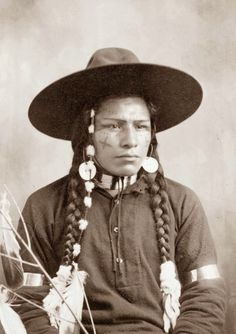 29ea368b5f2ba Old Picture of the Day - Indian Cowboy - picture taken in 1903 Native  American Men