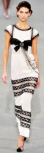 CHANEL - OMGosh!  I would TOTALLY WEAR THIS!!!..if I could fit into it :)