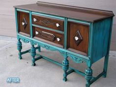 Better After: Teal and Brown