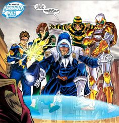 flash rogues gallery | 25th Century Rogues//Francis Manapul/M/ Comic Art Community GALLERY OF ...