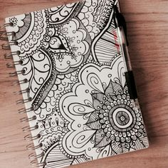 Pin by amarantha rain on drawings, doodles & inspiration! Sharpie Drawings, Sharpie Doodles, Sharpie Art, Pencil Art Drawings, Art Sketches, Doodle Art Designs, Doodle Patterns, Zentangle Patterns, Zentangles