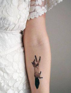 fox tattoo | Tumblr lie the water colour effect