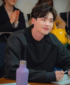Lee Jong Suk, script reading for his new kdrama 😍 Lee Jong Suk Cute, Lee Jung Suk, Jung Hyun, Kang Chul, Hyun Suk, Asian Actors, Korean Actors, Lee Jong Suk Wallpaper, Up10tion Wooshin