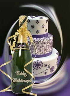 Holiday Gif, Name Day, Champagne, Happy Birthday, Birthday, Simple, Happy Brithday, Saint Name Day, Urari La Multi Ani
