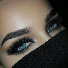 Love these dark, bold brows