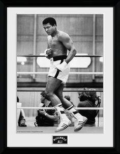 Muhammad Ali – Training 30x40cm Collector Print kehystetty lasitettu juliste
