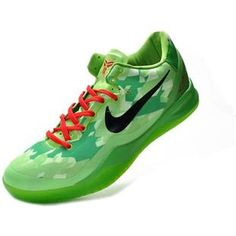 www.asneakers4u.com/ Nike Zoom Kobe 8 VIII Elite Lifestyle Christmas Fluorescent Green0