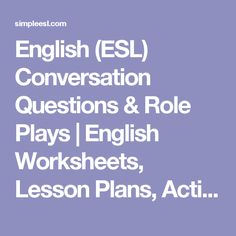 english conversation lesson plans for adults pdf