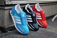 adidas Originals 2012 Spring/Summer LA Trainer Pack, I would happily take all 3... especially the red or blue