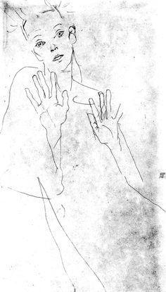 Egon-Schiele-These-Hands.jpg 426×750 pixels