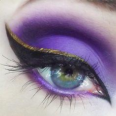 Mesmerizing eyes by Tori Biohazard featuring #Sugarpill Paperdoll eyeshadow with #MakeupForEver 92 eyeshadow. So gorgeous! http://instagram.com/p/dKaafzRRDl/
