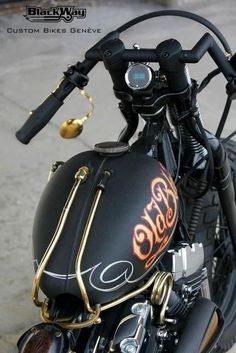 Epic Firetruck's Motor'sicles ~ Black Way Custom Bikes - Geneva Switzerland ~
