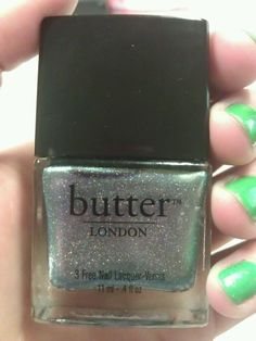 Knackered by butter LONDON...my one must-have from their Spring collection. Can't wait to use it!