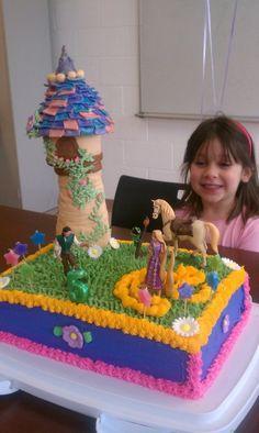 Rapunzel Cake (Tangled)