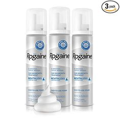 Men's Rogaine Minoxidil Foam for Hair Loss and Hair Regrowth, Topical Treatment for Thinning Hair, Supply - Hair Loss Treatment Best Hair Regrowth Treatment, Natural Hair Loss Treatment, Best Hair Loss Products, Hair Growth For Men, Beard Growth, Anti Hair Loss, Hair Loss Shampoo, Hair Thickening, How To Exfoliate Skin