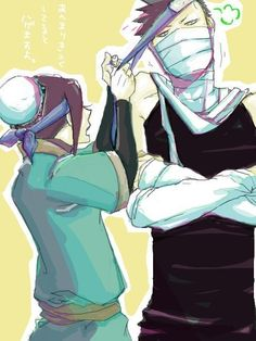 """""""You're late, you Goob"""" Carmella began to tug at his headband. """"I wanted to give you three something. """" he handed them each a slip of paper. They're eyes widened. """"This is for the Chunine Examines."""" """"Yep. U can enter,  but not alone.it has to be the full group of three. So what do you say?"""""""