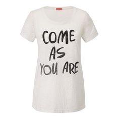T-Shirt, Pailletten, Statement Vorderansicht