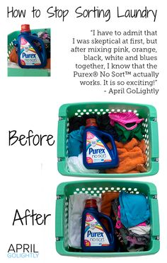 How to Stop Sorting Laundry #shop #LaundrySimplified #CollectiveBias