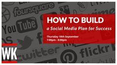 Learn how to build a social media plan in this free 1 hour webinar with social media and digital marketing expert Warren Knight. #SocialMedia #Twitter #Facebook #Instagram #Pinterest #LinkedIn