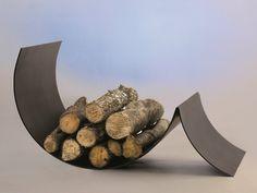 Steel Log holder UFOCUS by Focus
