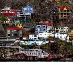 Jellybean Row, St. John's, Newfoundland