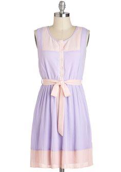 Urban Garden Party Dress in Lavender