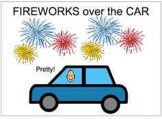 Fireworks Everywhere--free printable book