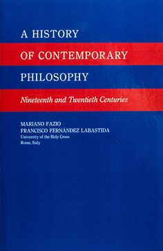 A History of Contemporary Philosophy