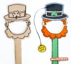 MollyMooCrafts 77+ St Patrick's Day Crafts & Ideas to Inspire You