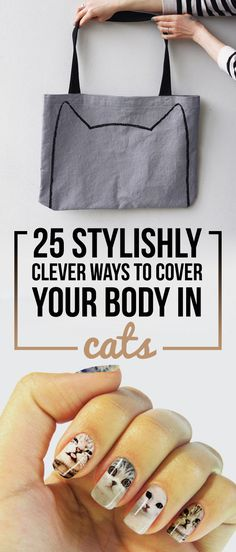 25 Stylishly Clever Ways To Cover Your Body In Cats