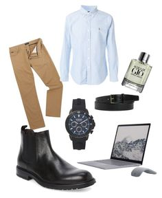 """Cosmin"" by pollyanna29 ❤ liked on Polyvore featuring Polo Ralph Lauren, Bruno Magli, Versus, Yves Saint Laurent, Giorgio Armani, men's fashion and menswear"