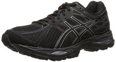 ASICS Womens Gelcumulus 17 Running Shoe BlackSilverOnyx 75 M US ** Read more  at the image link.