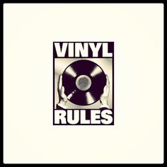 Vinyl Rules. Looking forward to pressing some!!! #Vinyl #records #albums #music
