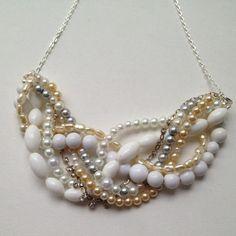 vintage pearls & rhinestones
