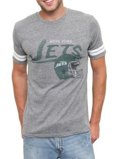 Men's New York Jets Junk Food Green Kick-Off T-Shirt