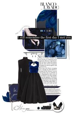 """Shades of Blue - Kacy Hill"" by skylight101 ❤ liked on Polyvore featuring Pottery Barn, Givenchy, Olivia Riegel, Alexander McQueen, Dsquared2, Zac Posen, Oneness, Zales, Lolita Lempicka and Dolce&Gabbana"