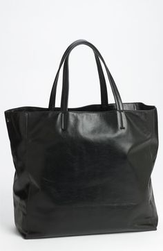 Lafayette 148 New York  Anna  Leather Tote available at  Nordstrom Black Leather  Tote 9eac377f0d5e8