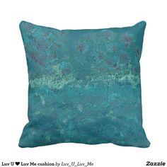 Luv U ❤️ Luv Me cushion