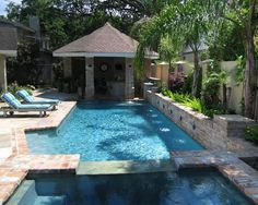 New Orleansu0027 Best Pools: A Lap Pool, Hot Tub, Wading Pool And Fountain All  In One. | CUE: New Orleans Fashion And Style | Pinterest | Lap Pools, ...