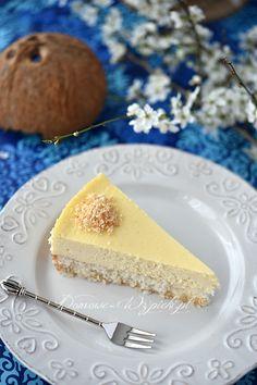 Sernik kokosowy Cheesecake, Cook, Recipes, Cheesecakes, Ripped Recipes, Cherry Cheesecake Shooters, Cooking Recipes