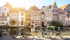 Gent, l'altra Bruges, ancora più grande, ancora più bella Montpellier, Travel Outfit Summer Airport, Madrid, Packing For Europe, Packing Lists, British Airways, Old Buildings, Amsterdam, The Real World