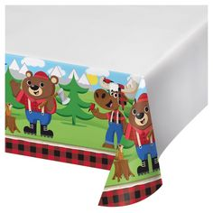 LITTLE LUMBERJACK Birthday PARTY Range Ages Tableware Decorations Supplies 1C