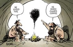 Early man discovers fire and climate change… First World, Climate Change, Life Lessons, Illustration, Choices, Funny Memes, Science, Earth, Cartoon