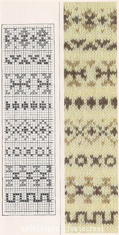 New Knitting Inspiration Website 58 Ideas Crochet Motifs, Crochet Stitches Patterns, Crochet Chart, Stitch Patterns, Knitting Patterns, Motif Fair Isle, Fair Isle Chart, Fair Isle Pattern, Knitting Charts