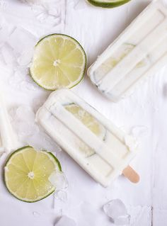 Brazilian Limeade Popsicles @themerrythought
