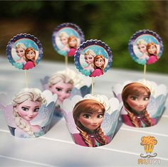 Find More Event & Party Supplies Information about 12sets princess cupcake wrappers&toppers picks decoration kids birthday party favors baby shower cupcake cases liner AW 0001,High Quality shower mixers and heads,China case for macbook 13 Suppliers, Cheap shower product from Michelle's Home on Aliexpress.com