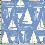 Art Gallery Coastline Sailcloth Quietude from Designed by Sharon… Boys Bedroom Curtains, Nautical Curtains, Sailing Outfit, Art Gallery Fabrics, Bari, Nautical Theme, Sailboat, Fabric Design, Printing On Fabric