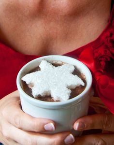 snowflake marshmallows! #partycrafters #winter