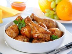 Udka w miodzie Chicken Wings, Grilling, Dishes, Cooking, Kitchen, Crickets, Tablewares, Brewing, Dish